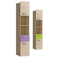 Lorin 3 - polcos szekrény